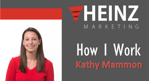 """How I Work"":  Kathy Mammon, Sr. Director of Demand Generation and Marketing Operations at Splash @MarketingMammon #HowIWork"