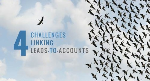 4 Challenges Linking Leads-to-Accounts