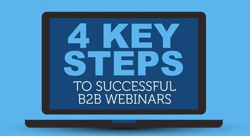 [Infographic] 4 Key Steps to Successful B2B Webinars