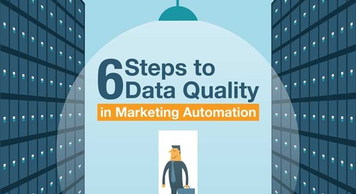 [Infographic] 6 Steps to Data Quality in Marketing Automation