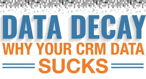 [Infographic] Data Decay: Why Your CRM Data Sucks