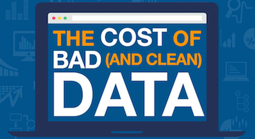[Infographic] The True Cost of Bad (And Clean) Data