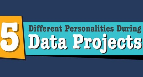 [Infographic] 5 Different Personalities During Data Projects