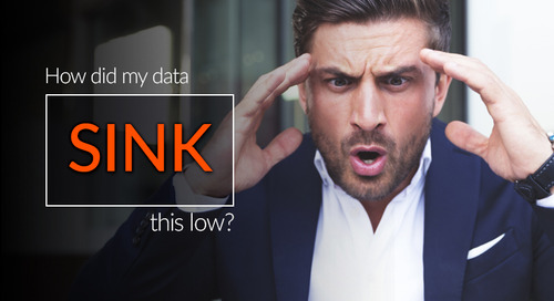 How Did My Data Sink This Low?