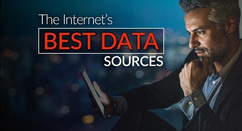 The Internet's Best Data Sources
