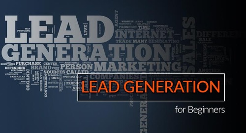 Lead Generation for Beginners