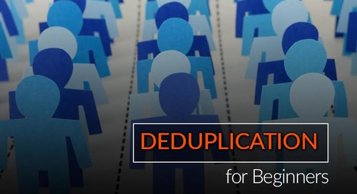 Deduplication for Beginners