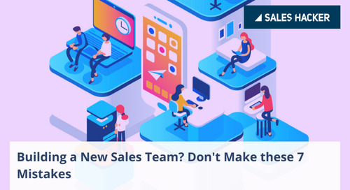 How To Build (And Scale) A Successful Sales Development Team