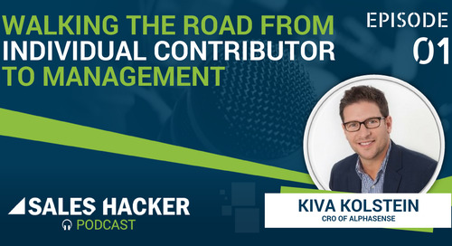 PODCAST 01: Walking the Road from Individual Contributor to Management