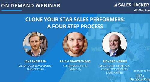 Clone Your Star Sales Performers: a 4 Step Process