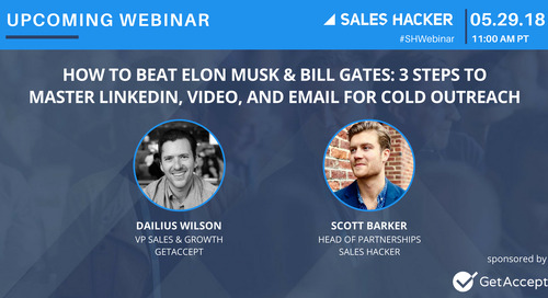 How to Beat Elon Musk & Bill Gates: 3 Steps to Master LinkedIn, Video, and Email for Cold Outreach