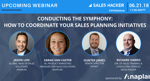 Conducting the Symphony: How to Coordinate Your Sales Planning Initiatives