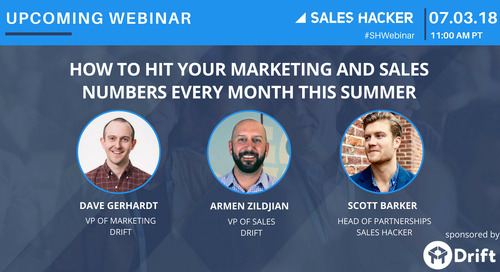 How to Hit Your Marketing and Sales Numbers Every Month This Summer