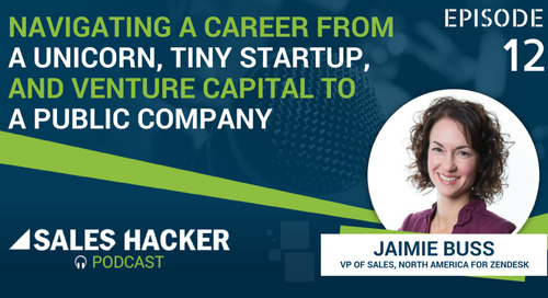 PODCAST 12: Navigating a Career from a Unicorn to a Public Company