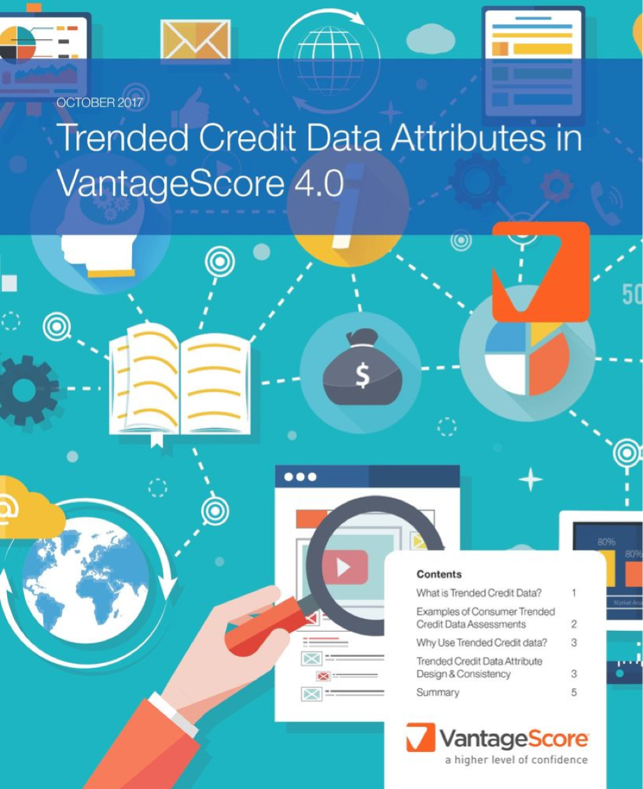 Trended Credit Data Attributes in VantageSore 4.0