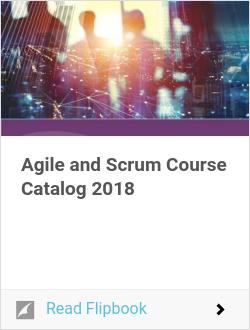 Agile and Scrum Course Catalog
