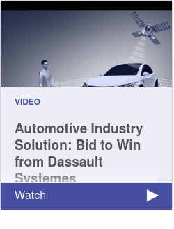 Automotive Industry Solution: Bid to Win from Dassault Systemes