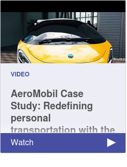 AeroMobil Case Study:  Redefining personal transportation with the 3DEXPERIENCE Platform