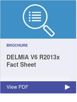 DELMIA V6 R2013x Fact Sheet
