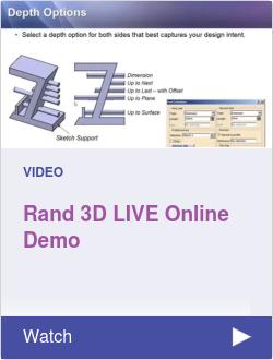 Rand 3D LIVE Online Demo