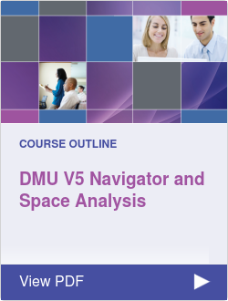 DMU V5 Navigator and Space Analysis