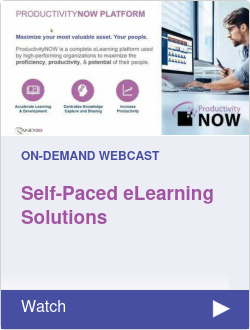 Self-Paced eLearning Solutions