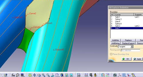 CATIA V5 Wireframe & Surface 1