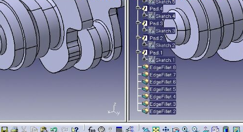 CATIA V5 Part Design Feature Recognition 1
