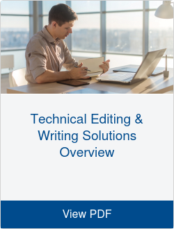 Technical Editing & Writing Solutions Overview