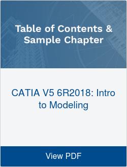 CATIA V5 6R2018: Intro to Modeling
