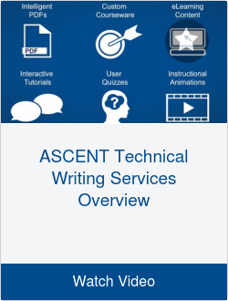 ASCENT Technical Writing Services Overview