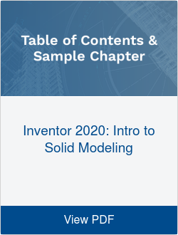 Inventor 2020: Intro to Solid Modeling
