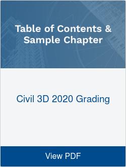 Civil 3D 2020 Grading