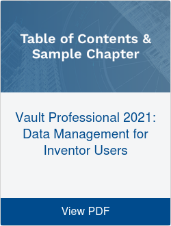 Vault Professional 2021: Data Management for Inventor Users