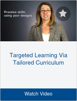 Targeted Learning Via Tailored Curriculum