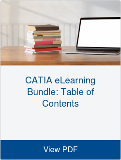 CATIA eLearning Bundle: Table of Contents