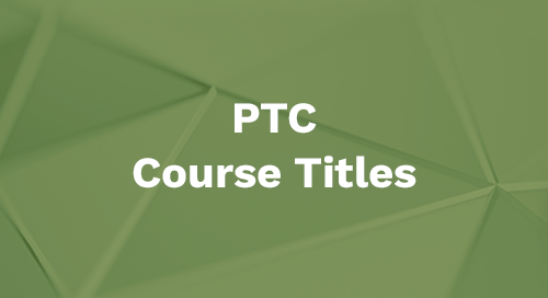 PTC Course Titles
