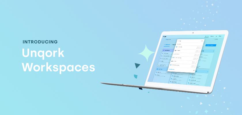 Unqork Workspaces Header