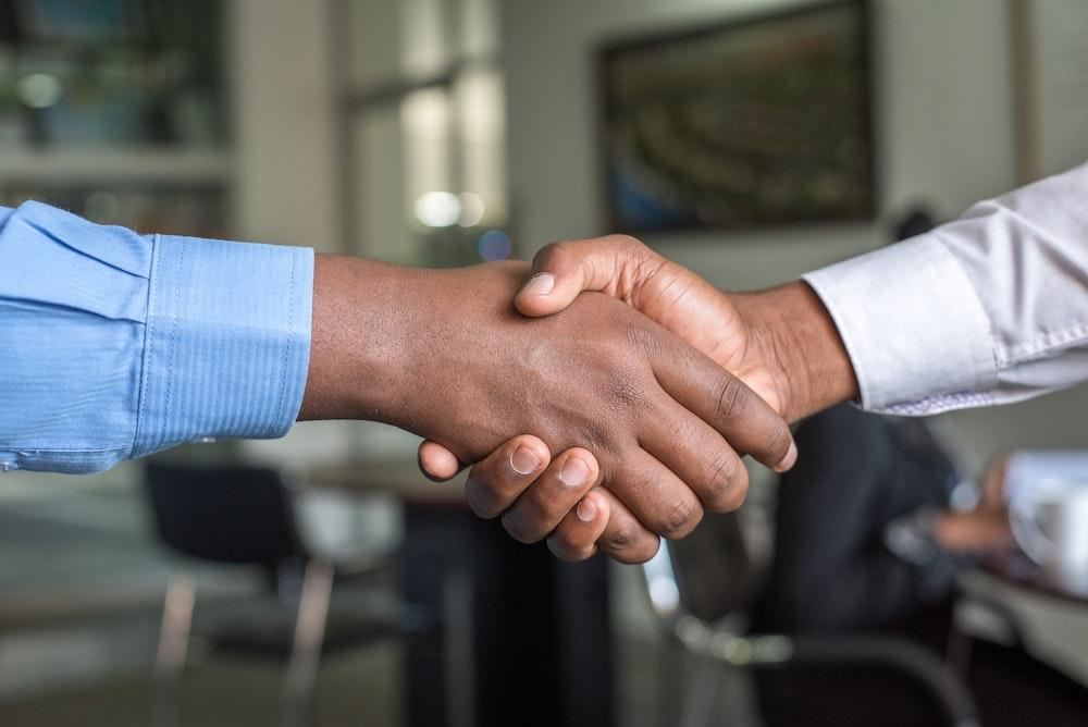 API handshake
