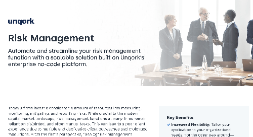 Solution Brief: Risk Management