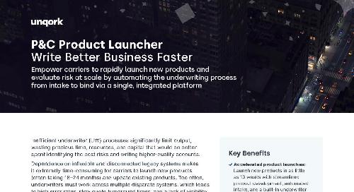 P&C Product Launcher