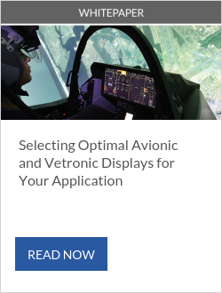 Selecting Optimal Avionic and Vetronic Displays for Your Application