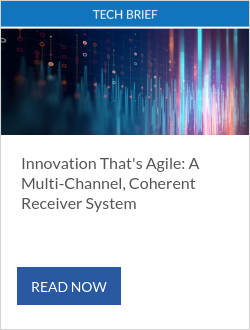 Innovation That's Agile: A Multi-Channel, Coherent Receiver System