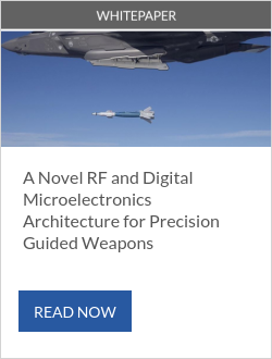A Novel RF and Digital Microelectronics Architecture for Precision Guided Weapons