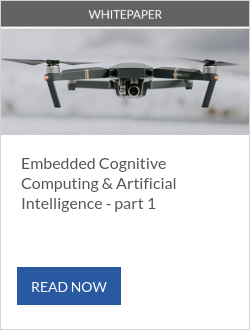 Embedded Cognitive Computing & Artificial Intelligence - part 1