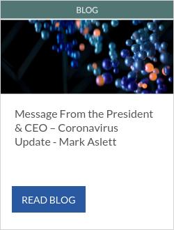 Message From the President & CEO – Coronavirus Update