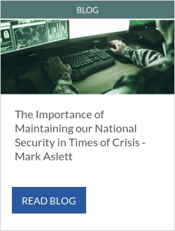 The Importance of Maintaining our National Security in Times of Crisis