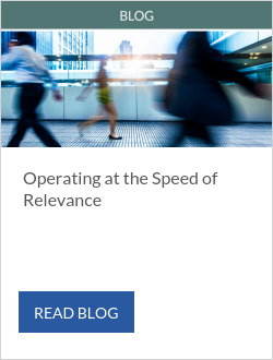 Operating at the Speed of Relevance - Stephanie Georges