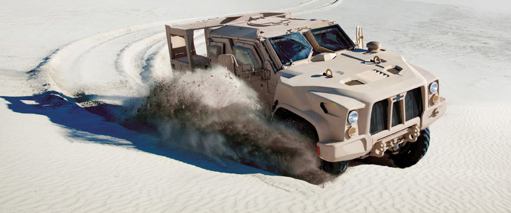 The Oshkosh Defense Joint Light Tactical Vehicle (JLTV)