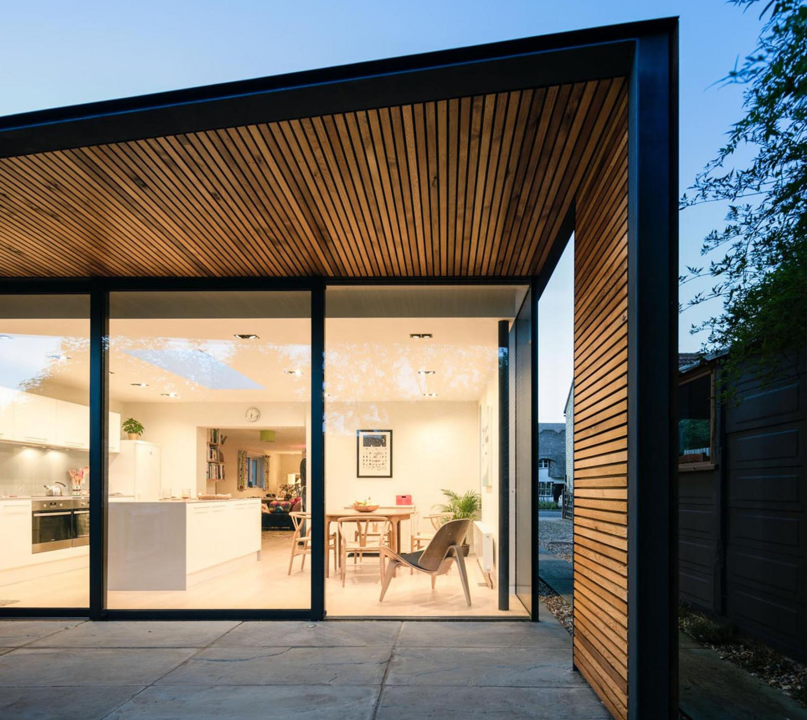 Lode house is a RIBA award-winning project that was conceived, designed and detailed using Sketchup.